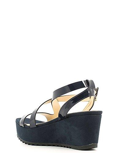Grace Shoes 7575 Sandalias Altos Mujeres Azul