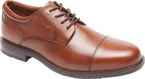 Rockport Mens Essential Details II Cap Toe Oxford Tan Antique Leather