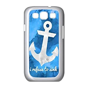 Samsung Galaxy S3 9300 Cell Phone Case White_Refuse To Sink Qmovw
