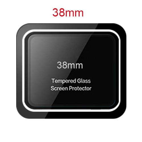 BATOP Apple Watch Screen Protector || scomas 9h Ultra-Thin Tempered Glass Screen Protector