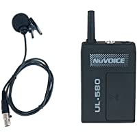 VocoPro UL5806 Nuvoice Wireless Body packs W Lav Satellite Radio