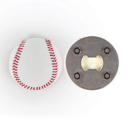 (The BaseballOpener - Bottle Opener made from a Real Baseball)