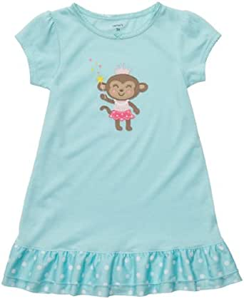 Carter's Nightgown - Princess Monkey-Large
