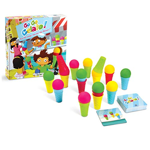 Blue Orange Games Go Gelato Logic Race Game for Kids]()