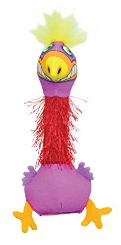 Petstages Madcap Boing Bird Catnip Toy Multicolor, 8 by Petstages