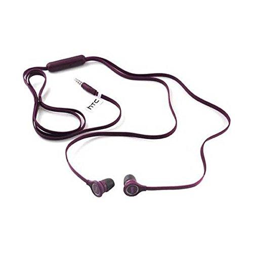 E190 3.5mm Hands-Free Earbuds Bulk Packaging - Purple ()