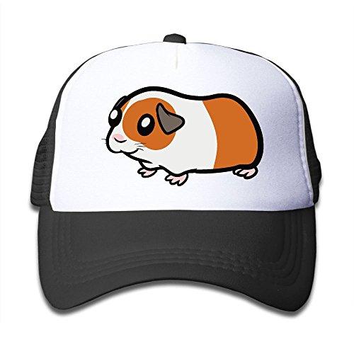 (Guinea Pig Clipart On Children's Trucker Hat, Youth Toddler Mesh Hats Baseball Cap)