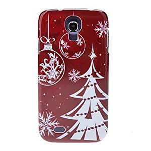 Silver Christmas Tree Back Case for Samsung Galaxy S4 I9500