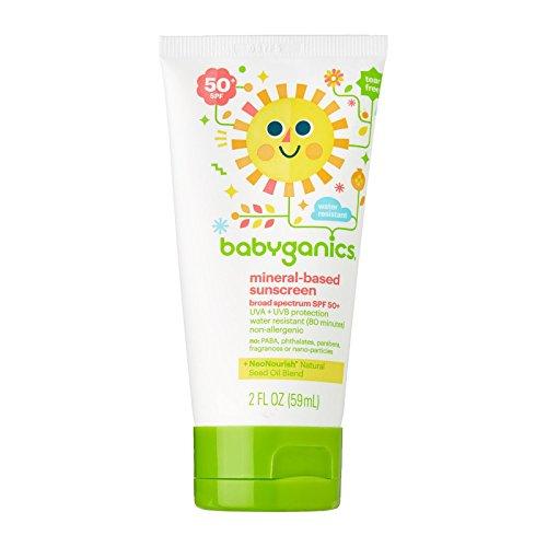 Babyganics Sunscreen Lotion 50 Spf, 2 oz