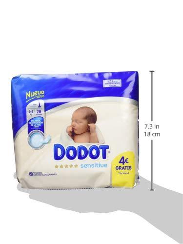 Dodot - Pañales desechables, unisex