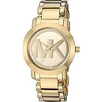 Michael Kors Women's MK3206 - MK Logo Gold One Size