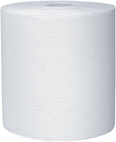 Scott 50606 Essential Plus Hard Roll Towels 8'' x 600 ft, 1 3/4'' Core dia, White (Case of 6 Rolls) by Scott (Image #1)