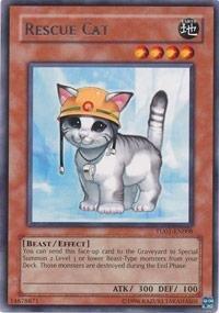 Yu-Gi-Oh! - Rescue Cat (TU01-EN008) - Turbo Pack 1 - Promo Edition (Rescue Cat)