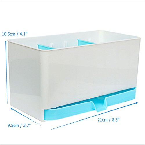 Wash Dry Shelf Drainer Sink Tidy Organiser Utensils Kitchen Storage Organizer Cutlery Holder Rack Caddy Sponge Basket ()