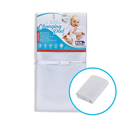 [Combo Pack]LA Baby Waterproof 4 Sided Changing Pad 30