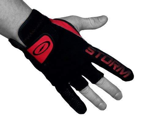 Storm STPG LR Bowling Glove, Black/Red,
