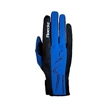 28e3b55ba5 ROECKL Homme, Femme Gants de ski Bleu Bleu roi 9 1/2: Amazon.fr ...
