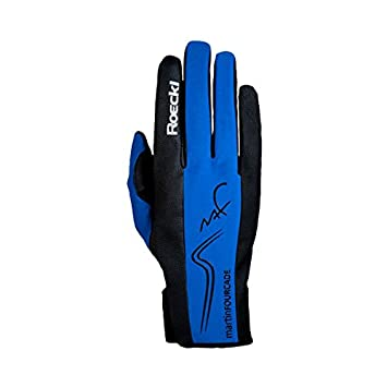 7e771678ec ROECKL Homme, Femme Gants de ski Bleu Bleu roi 9 1/2: Amazon.fr ...