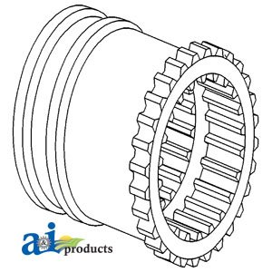 A&I Products PLANETARY SHIFT COUPLER PART NO: A-1866557M2