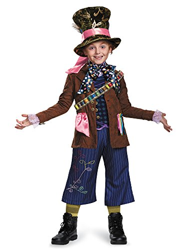 Mad Hatter Prestige Alice Through The Looking Glass Movie Disney Costume, Large/10-12]()