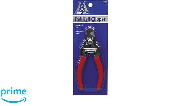 Cortaúñas para perros Millers Forge de acero inoxidable y estilo alicate: Amazon.es: Productos para mascotas