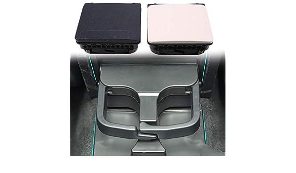 LanLan para Volkswagen Jetta MK5 MK6 Negro Consola Central reposabrazos Trasera portavasos 1 K0 862 532 F: Amazon.es: Coche y moto