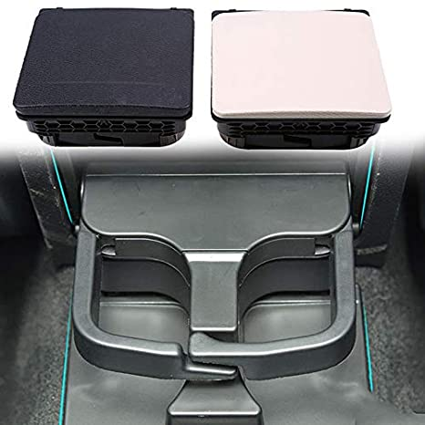 elegantstunning Auto Central Console Armrest Rear Cup Holder Seat Gap Cup/Mobile Phone Holder Storage