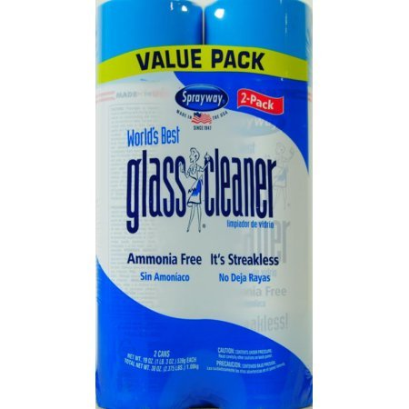 Flat Panel Tv Mirror - Sprayway, Sprayway Glass Cleaner, 19 oz Cans, Pack of 2