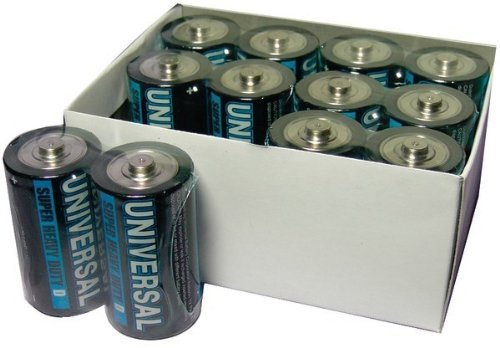 UPG - Super Heavy-Duty Battery Value Box (D; 12 pack) (Pack Of 3) by Universal Power Group