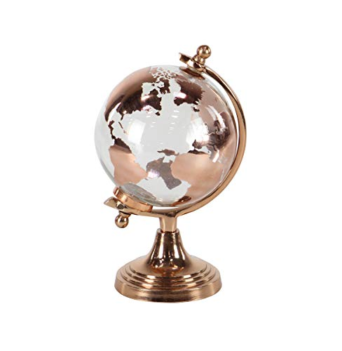 Deco 79 52477 Modern Glass and Metal Decorative Globe 6
