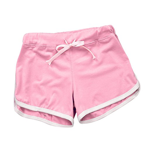 TIMEMEANS Womens Sport Shorts Gym Workout Waistband for sale  Delivered anywhere in USA