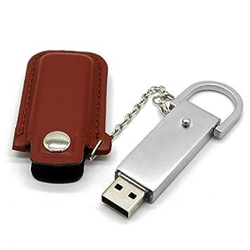 HEDOMEN 64 GB 4 Colores de Cuero con Llavero Modelo USB ...
