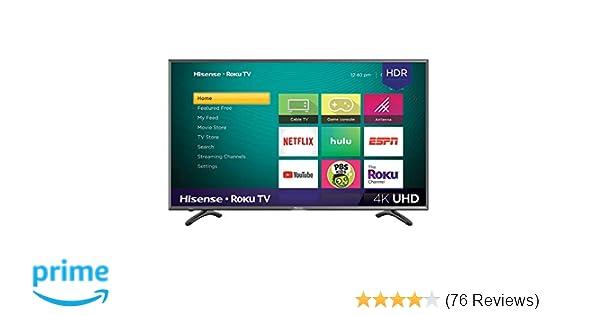 Hisense 50R7E 50-inch 4K Ultra HD Roku Smart LED TV HDR (2019)