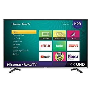 Hisense 43R7E 43-inch 4K Ultra HD Roku Smart LED TV HDR (2019)