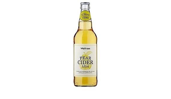 500 ml de sidra de pera Waitrose: Amazon.es: Alimentación y bebidas
