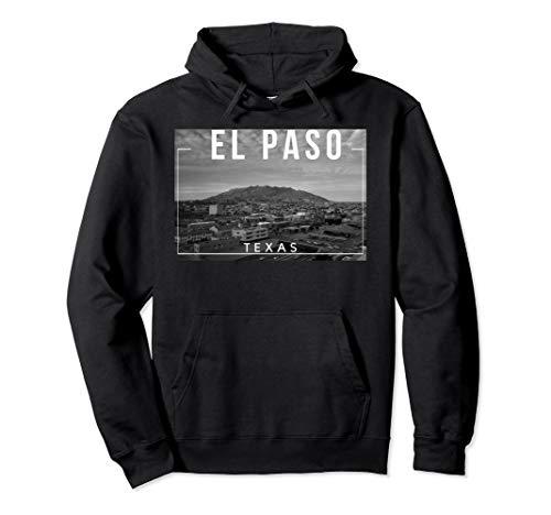 El Paso Texas TX Skyline Rio Grande Pullover Hoodie -
