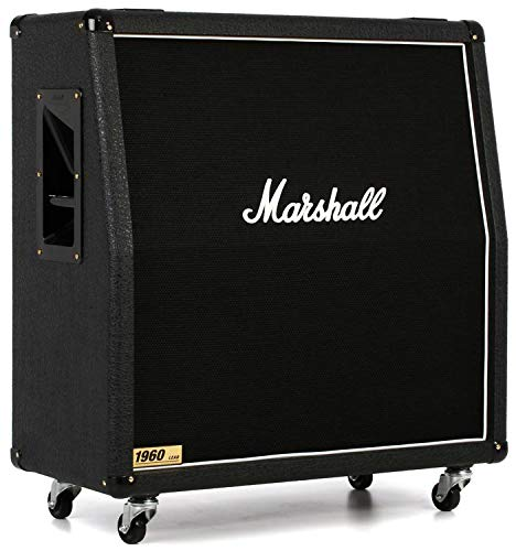 - Marshall 1960 300W 4x12 Guitar Extension Cabinet 1960A Angled