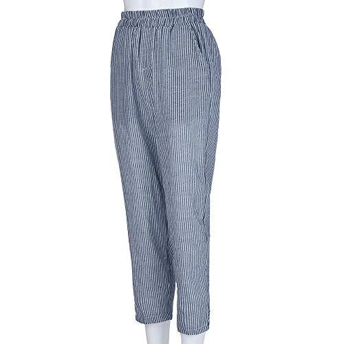 Blue Givekoiu Givekoiu Pantaloni Donna Donna Blue Pantaloni 0A0aqYS