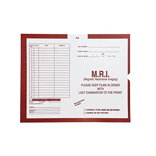 M.R.I., Rust #180 - Category Insert Jackets, System I, Open End - 14-1/4'' x 17-1/2'' (Carton of 250)