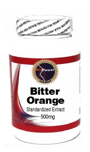 (Bitter Orange Standardized Extract 500mg 90 Capsules # BioPower Nutrition)