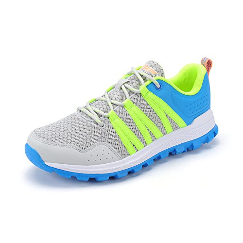 XTEP Mens Sports Shoes Athletic Running Shoes (Green) - 7
