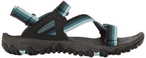 Merrell Ladies All Out Blaze Web Sandali Trekking & Walking Shoes Green (sea Pine)