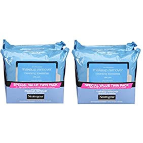 Neutrogena Makeup Removing Wipes, 25 Count, Twin Pack fNRtCB, 2Pack (Classic)