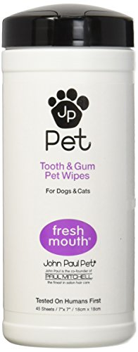 John Paul Pet Wipes Teeth product image