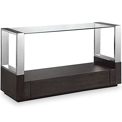 Delicieux Magnussen Furniture Revere Glass Top Entryway Table With Storage