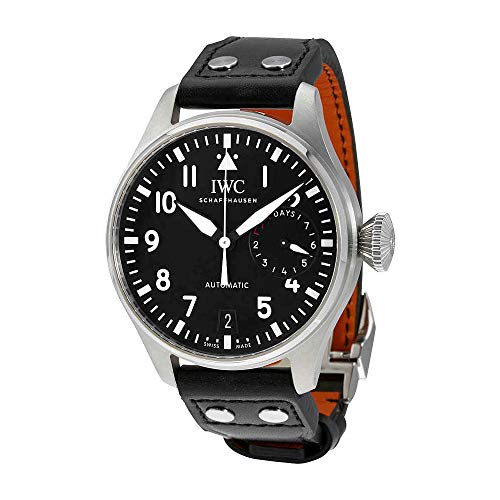 - IWC Men's Swiss Automatic Watch with Stainless Steel Strap, Black (Model: IW500912)