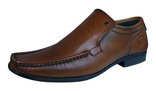 Base London Carnoustie Black Shoes Tans