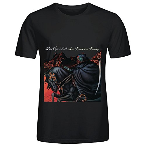 blue-oyster-cult-some-enchanted-evening-pop-album-cover-men-crew-neck-art-tee-shirts-black