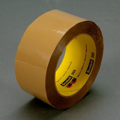 Scotch(R) Box Sealing Tape 355 Tan, 72 mm x 914 m, 2 per case