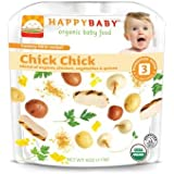 HappyBaby - Organic Baby Food Stage 3 Meals Ages 7+ Months Chick Chick - 4 oz.